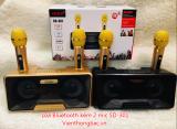 Loa Karaoke Bluetooth SD-301 kèm 2 mic