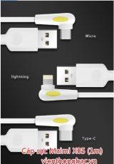 Cáp sạc Maimi X05 (1m) chân Micro USB / lightning/ Type C