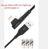 Cáp sạc Maimi X09 (1m) lightning
