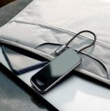 Bộ Hub chuyển đổi Type C Baseus 6 in 1 kèm đế sạc không dây Apple Watch CAHUB-AZ0G