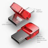 Baseus Red-hat Type-C USB Flash Disk Tarnish body + red cover- ACAPIPH-EA9