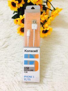 Cáp sạc Koracell cho iphone 5/6