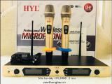 Mic ko dây HYL3068- 2 míc