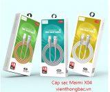 Cáp sạc Maimi X04 chân Micro USB / lightning/ Type C