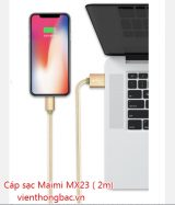 Cáp sạc Maimi MX23 ( 2m) chân Micro USB/ Lightning / Type C
